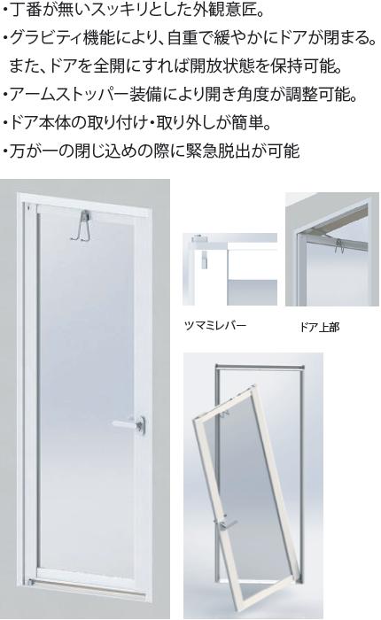 BHシリーズ ドア