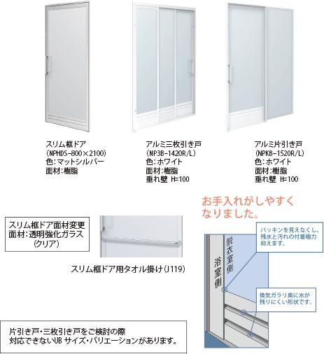 STシリーズ ドアオプション